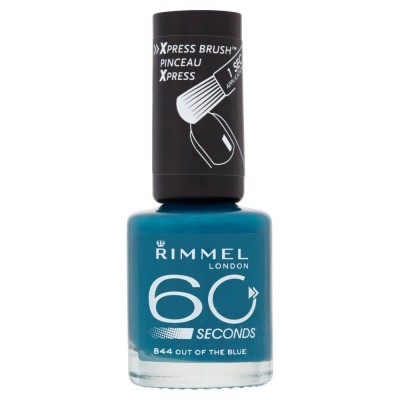 Image of   Rimmel 60 Seconds 844 Out Of The Blue 8 ml