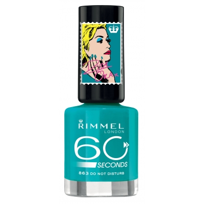 Image of   Rimmel 60 Seconds 863 Do Not Disturb 8 ml