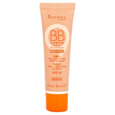 Image of   Rimmel BB Cream 9 in 1 Medium SPF 20 30 ml