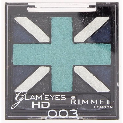 Image of   Rimmel Glam Eyes HD Eye Shadow Quad 003 2,5 g