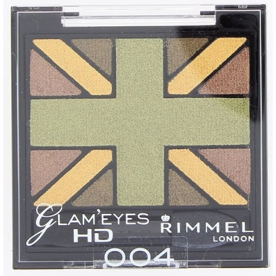 Image of   Rimmel Glam Eyes HD Eye Shadow Quad 004 2,5 g