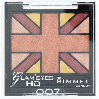 Image of   Rimmel Glam Eyes HD Eye Shadow Quad 007 2,5 g
