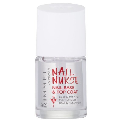 Rimmel Nail Nurse Nail Base & Top Coat 12 ml
