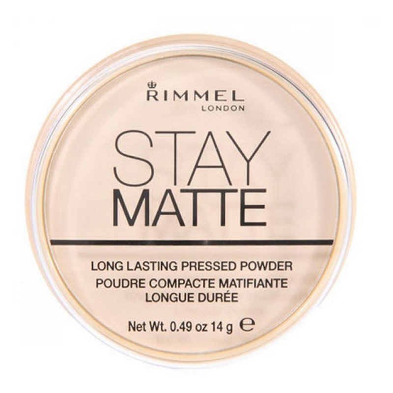Rimmel Stay Matte Pressed Powder 001 Transparent 14 g Pudder