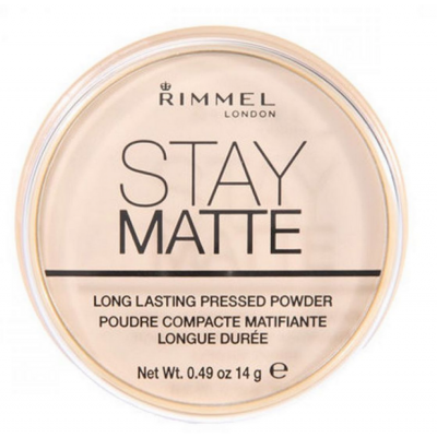 Rimmel Stay Matte Pressed Powder 001 Transparent 14 g
