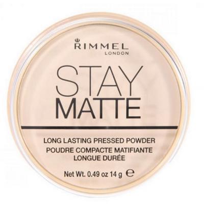Rimmel Stay Matte Pressed Powder 001 Transparent 14 g