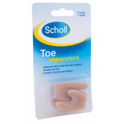 Image of   Scholl Toe Separators 3 stk