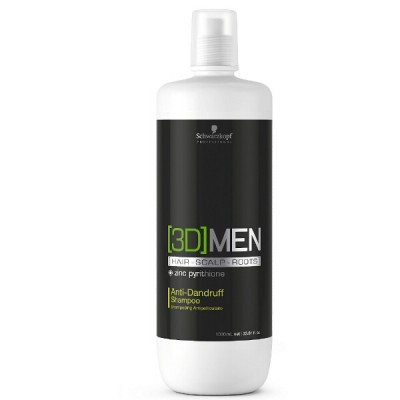 Schwarzkopf 3D Men Anti Dandruff Shampoo 1000 ml