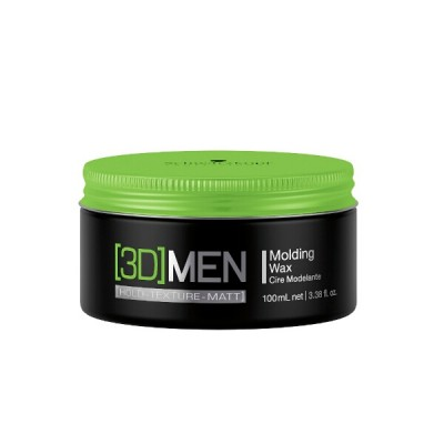 Image of   Schwarzkopf 3D Men Molding Wax Medium Hold 100 ml