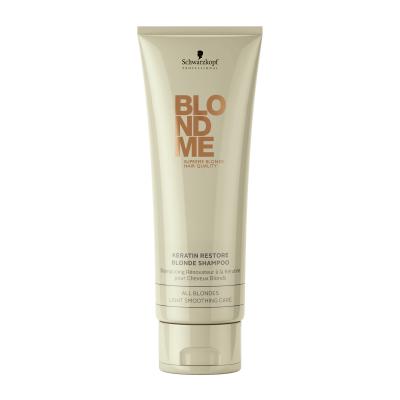 Image of   Schwarzkopf Blondme Keratin Restore Blonde Shampoo 250 ml