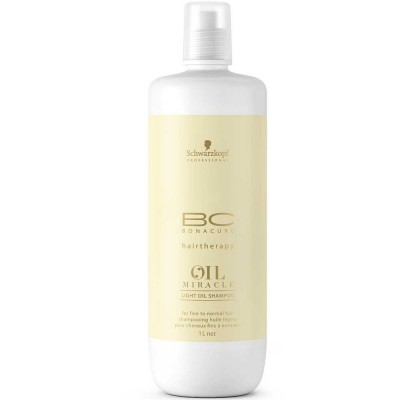 Image of   Schwarzkopf Bonacure Oil Miracle Light Oil Shampoo 1000 ml