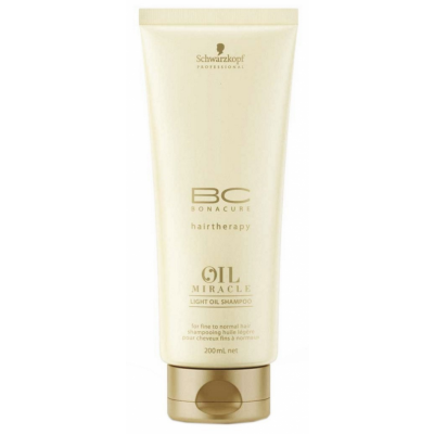 Image of   Schwarzkopf Bonacure Oil Miracle Light Shampoo 200 ml