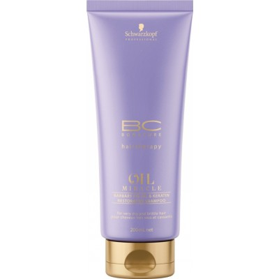 Image of   Schwarzkopf Bonacure Oil Miracle Barbary Fig Oil Shampoo 200 ml