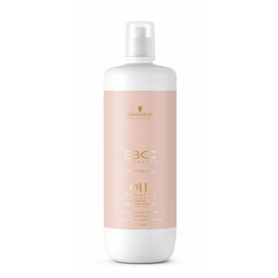 Billede af Schwarzkopf Bonacure Oil Miracle Rose Oil Hair & Scalp Shampoo 1000 ml