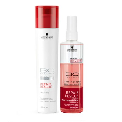 Image of   Schwarzkopf Bonacure Repair Rescue 250 ml + 200 ml