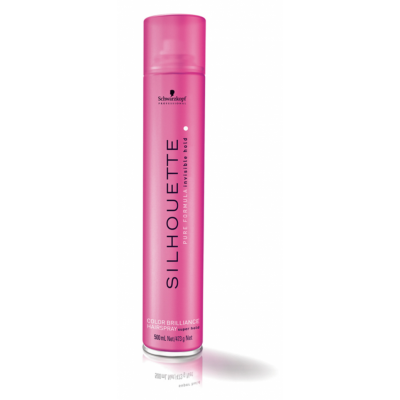 Image of   Schwarzkopf Silhouette Color Brilliance Hairspray Super Hold 500 ml