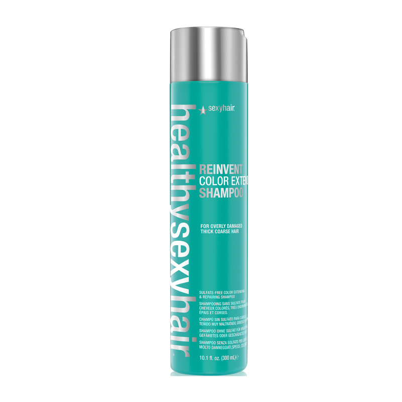 Styling Products For Thick Hair: Sexy Hair Healthy Reinvent Color Extend Shampoo For