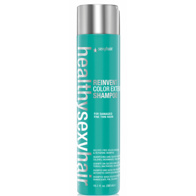 Image of   Sexy Hair Healthy Reinvent Color Extend Shampoo For Damaged Thin & Normal Hair 300 ml