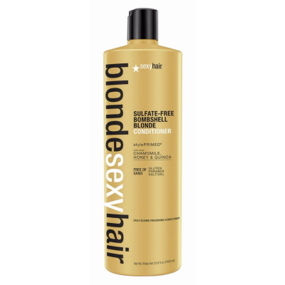 Image of   Sexy Hair Sulfate-Free Bombshell Blonde Conditioner 1000 ml