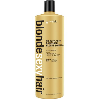 Image of   Sexy Hair Sulfate-Free Bombshell Blonde Shampoo 1000 ml