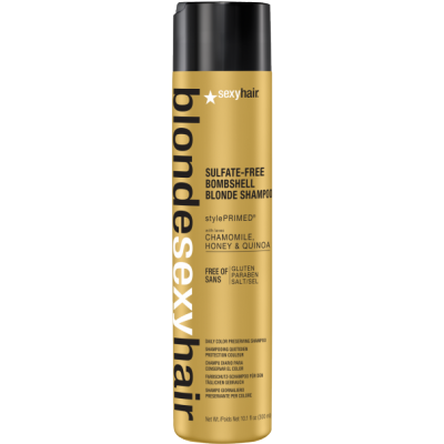 Image of   Sexy Hair Sulfate-Free Bombshell Blonde Shampoo 300 ml