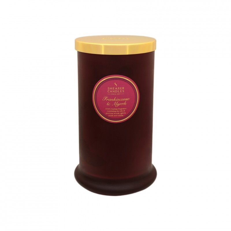Shearer Candles Scented Candle Pillar In Jar Frankincense