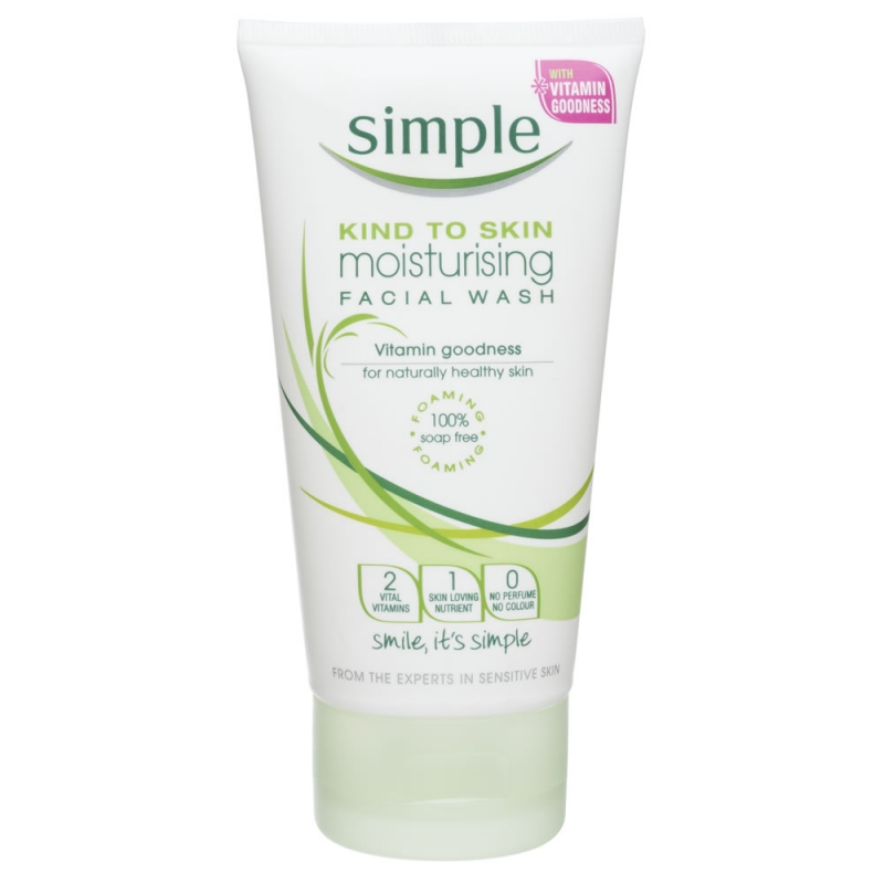 Want simple facial wash gel
