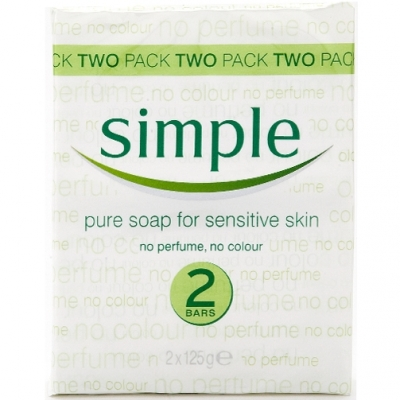 Simple Pure Soap Twin Pack 2 st
