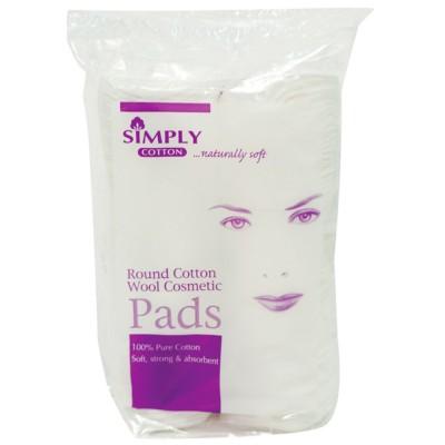 Simply Cotton Cosmetic Cotton Pads 500 pcs