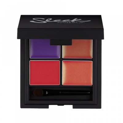 Image of   Sleek Makeup Lip 4 Lipstick Palette Mardi Gras 5,4 g