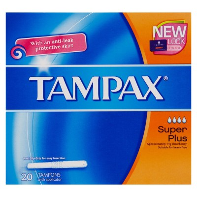 Tampax Blue Super Plus 20 stk