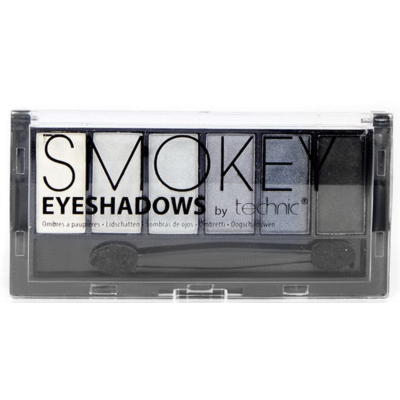 Technic 6 Shade Eyeshadow Palette Smokey 7.5 g