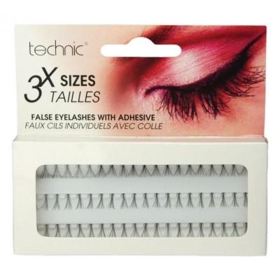 Technic Individual False Eyelashes 20 pcs