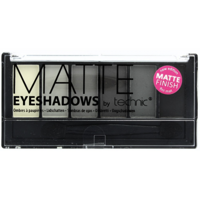 Technic Matte Eyeshadow Palette Smokey 7,5 g
