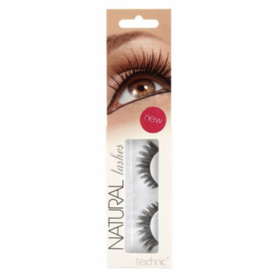 Technic Natural Lashes False Eyelashes A13 1 par