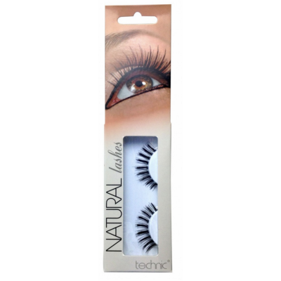 Technic Natural Lashes False Eyelashes A27 1 Paar