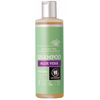 Image of   Urtekram Aloe Vera Shampoo Normalt Hår 250 ml