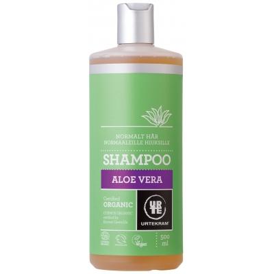 Image of   Urtekram Aloe Vera Shampoo Normalt Hår 500 ml