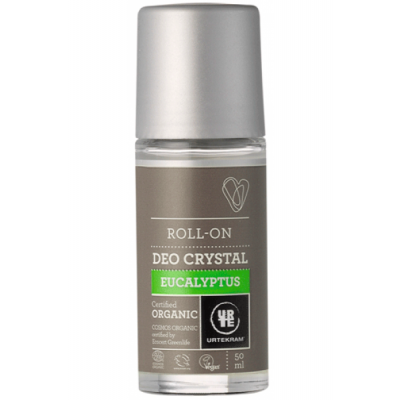 Image of   Urtekram Eucalyptus Deokrystal Roll-On 50 ml