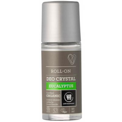Urtekram Eucalyptus Kristall-Deo Roll On 50 ml