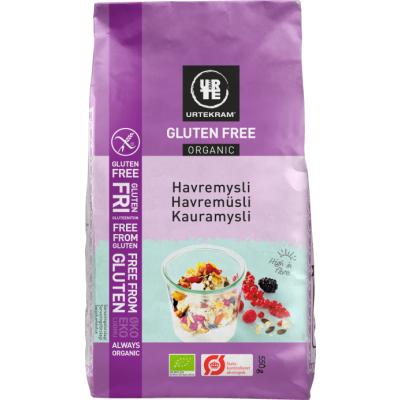 Urtekram Bio Hafermüsli Glutenfrei 550 g