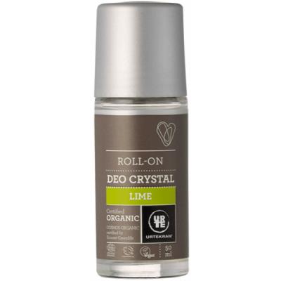 Urtekram Lime Deokrystal Roll-On 50 ml