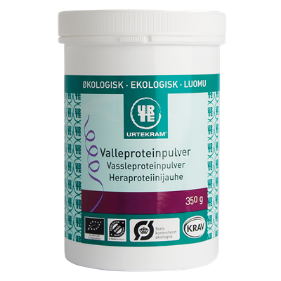 Urtekram Ekologiskt Vassleproteinpulver 350 g
