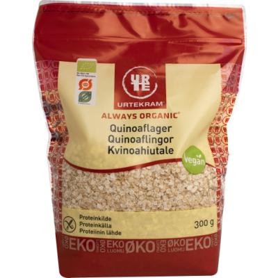 Urtekram Quinoaflager Øko 300 g