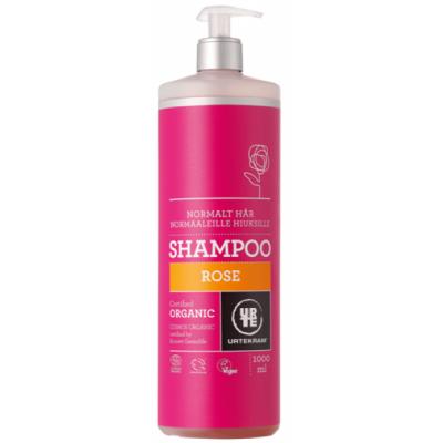 Urtekram Rose Shampoo Normalt Hår 1000 ml