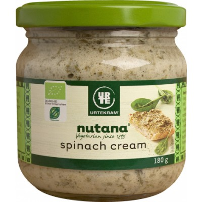 Nutana Spinach Cream Øko 180 g
