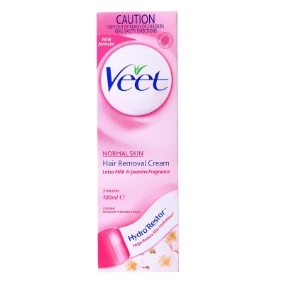 Veet Hair Removal Cream Normal Skin 100 ml