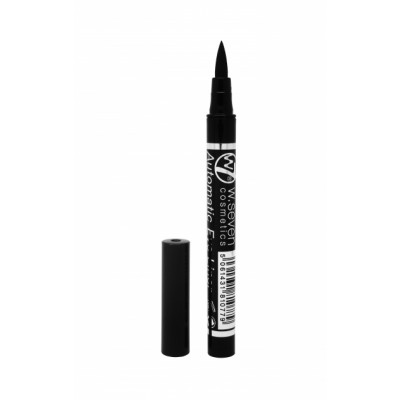 Image of   W7 Automatic Felt Eyeliner Pen Black 0.8 ml