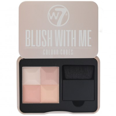 Image of   W7 Blush With Me Colour Cubes Getting Hitched 8,5 g