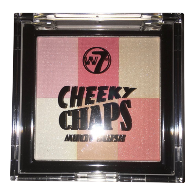 Image of   W7 Cheeky Chaps Multi Blush Hot Gossip 1 stk